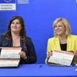 VIDEO Comisarul european Corina Crețu a aprobat un proiect în valoare de 357 milioane de euro pentru infrastructura din Croația
