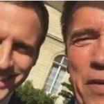 Arnold Schwarzenegger, întâlnire cu Emmanuel Macron: Protejarea mediului înconjurător nu trebuie politizată. Respirăm cu toții același aer și bem aceeași apă
