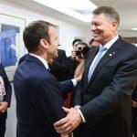 Emmanuel Macron: Salut munca lui Klaus Iohannis, care nu își lasă țara în rândul democrațiilor iliberale din Europa