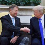 Galerie FOTO Primele imagini cu Klaus Iohannis și Donald Trump în Biroul Oval de la Casa Albă
