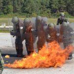 FOTO. Mission Rehearsal Exercise. Accidente simulate de militarii români, alături de militari ai SUA