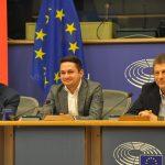 """VIDEO Dezbatere privind """"Europa cu două viteze"""" organizată de europarlamentarul Emilian Pavel (PSD, S&D), la Bruxelles: Aspectul social trebuie să facă parte integrantă din viziunea noastră atât pentru România, cât și pentru UE"""