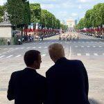Emmanuel Macron, la finalul defilării de 14 iulie care marchează și centenarul intrării SUA în Primul Război Mondial de partea Franței: Nimic nu ne va separa