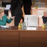Angela Merkel se opune unei soluții militare în Coreea de Nord și critică escaladarea verbală dintre Donald Trump și regimul de la Phenian