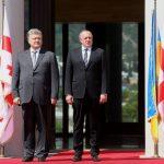 Front politic comun în fața Rusiei: Georgia și Ucraina au înființat un Înalt Consiliu bilateral cu obiectivul eliberării teritoriilor ocupate de Rusia și integrarea celor două țări în NATO și UE