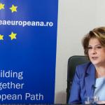 VIDEO Ministrul delegat pentruFonduri Europene Rovana Plumb, interviu pentru Calea Europeană: Banii europeni sunt cei mai ieftini bani pe care România îi poate accesa în vederea investirii în economia românescă