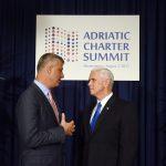 Președintele kosovar, întrevedere cu vicepreședintele Mike Pence: SUA vor sprijini eforturile Kosovo de aderare la NATO