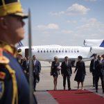 Emmanuel Macron: Am venit la București pentru a construi împreună cu Klaus Iohannis o Europă care protejează