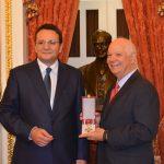 Ridicarea vizelor pentru români, discutată de ambasadorul George Maior cu senatorul american Ben Cardin, membru al Comitetului pentru Relaţii Externe din Senatul SUA