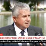 VIDEO Interviu. Daniel Buda, europarlamentar PNL, PPE: Trebuie să creștem ritmul de accesare a fondurilor europene și să eliminăm birocrația. Prezența Comisiei REGI din PE la Cluj, o responsabilizare pentru România