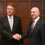 Klaus Iohannis l-a încurajat pe premierul Republicii Moldova să valorifice oportunitățile oferite de cooperarea cu NATO