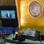 Klaus Iohannis pune zona Mării Negre pe agenda ONU: Suntem încă martori ai unor acțiuni întreprinse în detrimentul dreptului internațional, iar cooperarea regională se află la unul dintre cele mai scăzute niveluri istorice