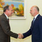 Ambasadorul Daniel Ioniță la întâlnirea cu premierul Pavel Filip: Republica Moldova rămâne o prioritate strategică a României