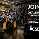 Cyber Security Forum 2017 in Krakow. 130 speakers will debate strengthening cybersecurity in the European Union and NATO