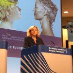 VIDEO INTERVIU. Comisarul european Corina Crețu, după lansarea celui de-al șaptelea raport al CE privind coeziunea:  Concluzia principală este că politica de coeziune a contribuit la dezvoltarea economică a tuturor regiunilor