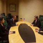 Ministrul Apărării, întrevedere cu congresmanul american Mike Turner, președintele Grupului de Prietenie pentru România