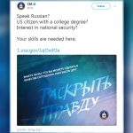 Rusia se oferă să ajute CIA în recrutarea cunoscătorilor de limbă rusă