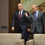 """Vladimir Putin i-a promis lui Igor Dodon că va face """"tot ce este necesar pentru soluționarea conflictului transnistrean"""""""