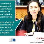 Eurodeputatul Claudia Țapardel (PSD, S&D): Astăzi se lansează Anul European al Patrimoniului Cultural, prilej cu care România va putea să își promoveze mai bine patrimoniul în 2018