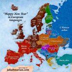 """Cum urăm """"An nou fericit"""" în toate limbile vorbite în Europa"""