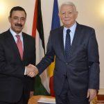 Ambasadorul Palestinei, primit de Teodor Meleșcanu la MAE. România, printre țările vehiculate de presa israeliană care și-ar putea muta ambasada la Ierusalim