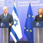 Aflat la Bruxelles, Benjamin Netanyahu este tranșant în privința Ierusalimului, în timp ce Federica Mogherini susține o soluție de compromis