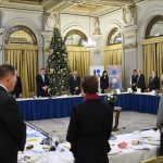 Klaus Iohannis a ținut un moment de reculegere la întâlnirea cu ambasadorii statelor UE după ce a aflat de moartea Regelui Mihai I