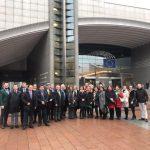 Daniel Buda, europarlamentar PNL, PPE, vizitat în legislativul european de un grup de profesori din cadrul Academiei de Studii Economice din București