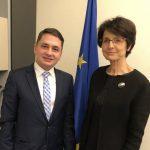 Marianne Thyssen, comisarul european pentru muncă, sprijină proiectele europarlamentarului Emilian Pavel (PSD, S&D)