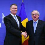 Klaus Iohannis, mesaj alături de Jean-Claude Juncker de la Bruxelles: Independența justiției românești este intangibilă