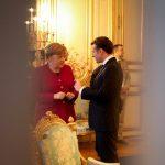 Angela Merkel și Emmanuel Macron, angajament comun pentru reformarea Europei. Președintele francez: Ambiţiile pe care le avem nu se pot înfăptui singure