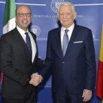 Ministrul Teodor Meleșcanu, după întâlnirea cu omologul italian: România și Italia pregătesc o nouă ședință comună de guvern