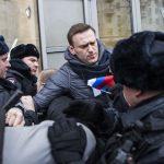 VIDEO. Aleksei Navalîi, principalul opozant al lui Vladimir Putin, reținut de poliția din Moscova după ce s-a alăturat unei manifestații împotriva liderului de la Kremlin
