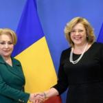 Comisarul european Corina Crețu, întrevedere cu prim-ministrul României, Viorica Dăncilă