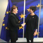 Ministrul Fondurilor Europene, întrevedere cu doi comisari europeni pentru discuții despre sporirea atragerii și eficiența cheltuirii fondurilor europene în România