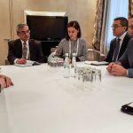 Ministrul Apărării, întâlnire la München cu președintele companiei americane pentru apărare și securitate Lockheed Martin