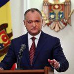 Președintele Igor Dodon califică unirea cu România, pentru care militează o parte dintre cetățenii Republicii Moldova, drept război civil