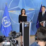 Angelina Jolie va colabora cu NATO în lupta împotriva violenţelor sexuale