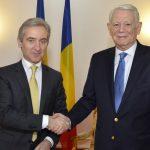 Importanţa menţinerii Republicii Moldova pe agenda europeană, subliniată de ministrul Teodor Meleşcanu la întâlnirea cu Iurie Leancă