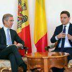 Ministrul Victor Negrescu, întrevedere cu Iurie Leancă: România rămâne cel mai puternic partener al Republicii Moldova în procesul de integrare europeană