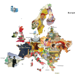 Harta literaturii. Cele mai apreciate cărți pentru copii din Europa