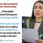 Europarlamentarul PSD/S&D Claudia Țapardel i-a scris premierului britanic: Nu pot accepta restricționarea libertății de mișcare a europenilor după Brexit