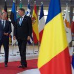 După întâlnirea cu Klaus Iohannis, președintele Consiliului European se întrunește cu Angela Merkel și cu Emmanuel Macron