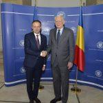 Întrevedere Teodor Meleșcanu – Andrian Candu: Sprijinul acordat de România Republicii Moldova contribuie la racordarea țării la spațiul de valori europene