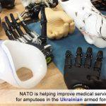 NATO lansează un program care ajută forțele militare ucrainene care au suferit amputări în conflictul din estul țării