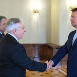 Klaus Iohannis, după întâlnirea cu Mugur Isărescu: Atât Guvernul, cât și BNR trebuie să evite abordările concurențiale, astfel încât cooperarea instituțională să fie una eficientă
