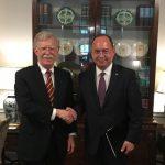Consilierul prezidențial Bogdan Aurescu a avut o întrevedere la Casa Albă cu John Bolton, consilier pentru securitate națională al președintelui SUA