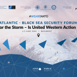 "Aspen Institute Romania organises Atlantic – Black Sea Security Forum 2018: ""Bracing for the Storm – Is United Western Action Possible? (LIVE, June 5, 10:00)"