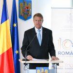 "Președintele Klaus Iohannis a primit Premiul ""Franz Josef Strauss 2018"""