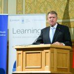 Președintele Klaus Iohannis: La noi se face politică educaţională după ureche. Riscurile unei abordări haotice sunt foarte mari